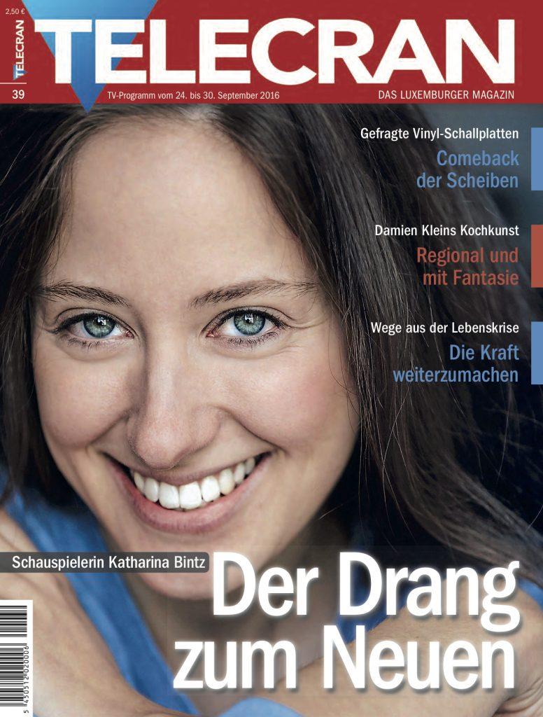 Katharina Bintz Interview Schauspielerin Presse Telecran Luxemburg